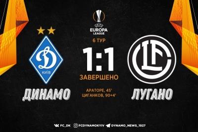 Дно пробите. «Динамо» ганебно покидає Лігу Європу