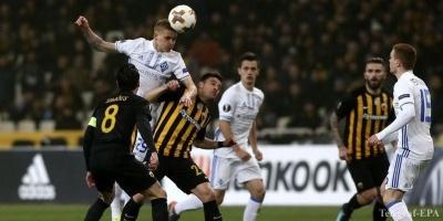 Букмекери про шанси «Динамо» вийти в 1/8 фіналу Ліги Європи