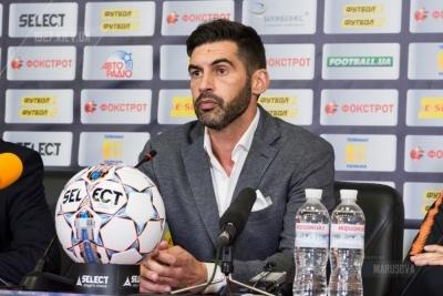 Фонсека: «Малишев не зіграє з «Динамо», Тайсон тільки приєднується до тренувань»