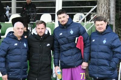 «Динамо» в Белеку: дружній візит Флоріна Черната