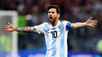 Букмекер оцінив шанси завершення кар'єри Мессі в збірній Аргентині