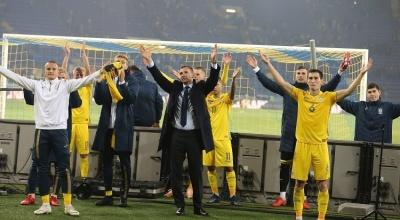 Збірна України Андрія Шевченка не програє вже дев'ять матчів поспіль. Це — третя за тривалістю серія в історії