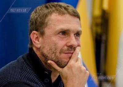 Сергій Ребров: «Найближчим часом можу замінити Хацкевича? Це нісенітниця»