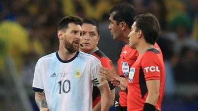 Месси: «Со стороны судей в матче с Бразилией было много отстоя»