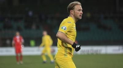 Безус забив 5-й гол за збірну України. Це перший м'яч з вересня 2014 року
