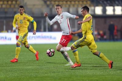 Збірна України U-20 поступилася Польщі