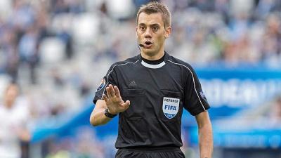 Став відомий арбітр матчу «Бенфіка» - «Динамо»
