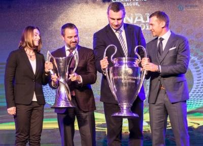 21 квітня відбудеться передача місту Києву кубків Ліги чемпіонів УЄФА