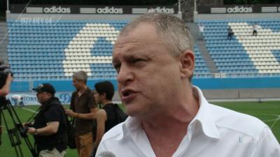Игорь Суркис - о назначении Луческу на пост главного тренера