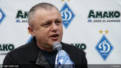 Суркіс - Дмитруліну: «Ви були одним з лідерів того «золотого» «Динамо», яке наводило жах на всю Європу»