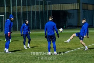 Стали відомі дати та час початку матчів «Динамо» першому тренувальному зборі