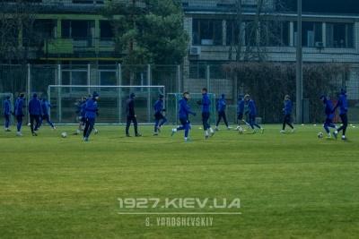 Перше тренування «Динамо» в Туреччині: «гарячий» м'яч