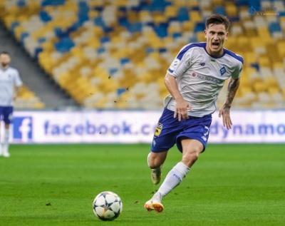 Беньямін Вербич – найкращий гравець київського «Динамо» у cерпні