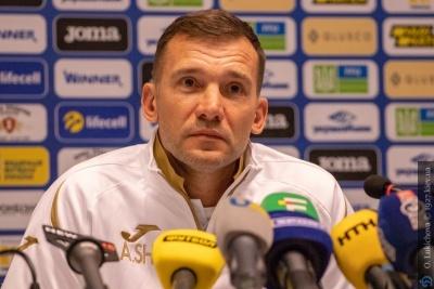 Шевченко запросив для участі у травневому зборі 11 футболістів юнацьких команд