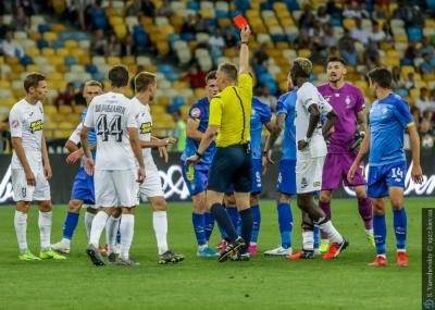 «Динамо» - «Олимпик». Справедливые ли удаления?