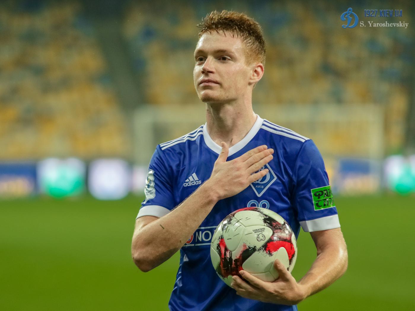 Федорчук дебютирует в Лиге чемпионов