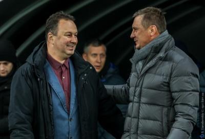 Флеш-коментарі Хацкевича та Червенкова після матчу