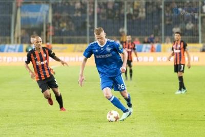 Захисник «Динамо» тренується на базі «Андерлехта»